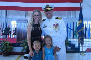 NAS Patuxent River Change of Command '17