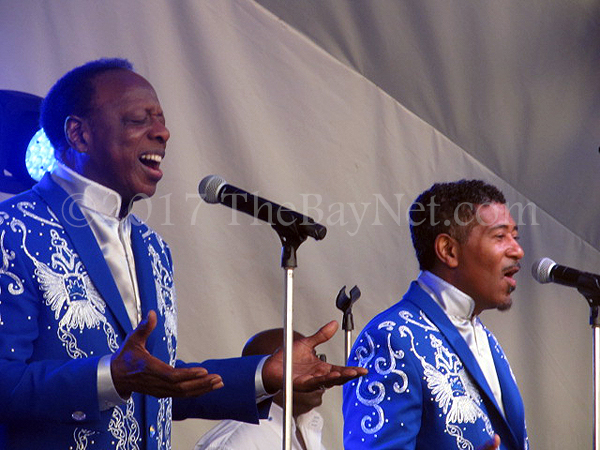 The Spinners perform at Chesapeake Beach Resort and Spa