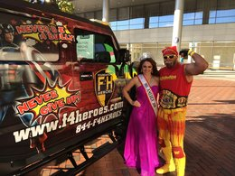 Dr. Lipoff: Ms. America Takes Some Time to Visit Children at Johns Hopkins