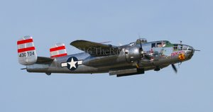Vintage B-25J Bomber: Patuxent River NAS Air Expo, 2016