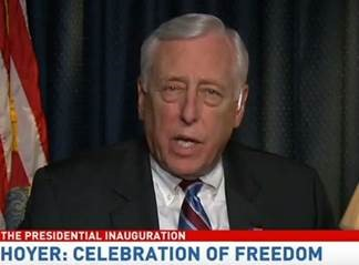 Hoyer says it's a 'celebration of freedom'